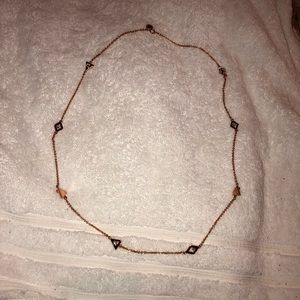 Marc Jacobs Rose Gold Necklace